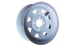 Painted Trailer Wheels