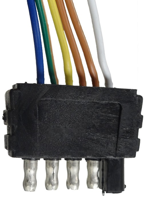 35 U0026 39  Wire Harness - 5-way Flat Trailer End Connector