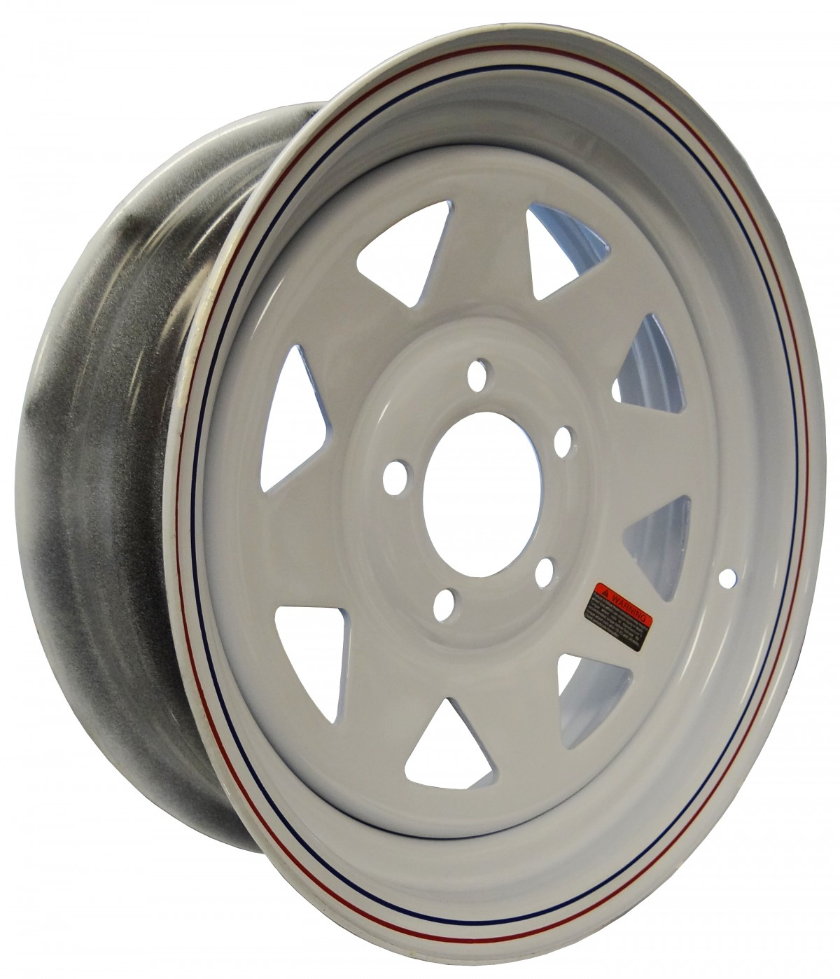 15 U0026quot  X 5 U0026quot  Wide Painted Trailer Rim With 5 Lugs On 4 3  4
