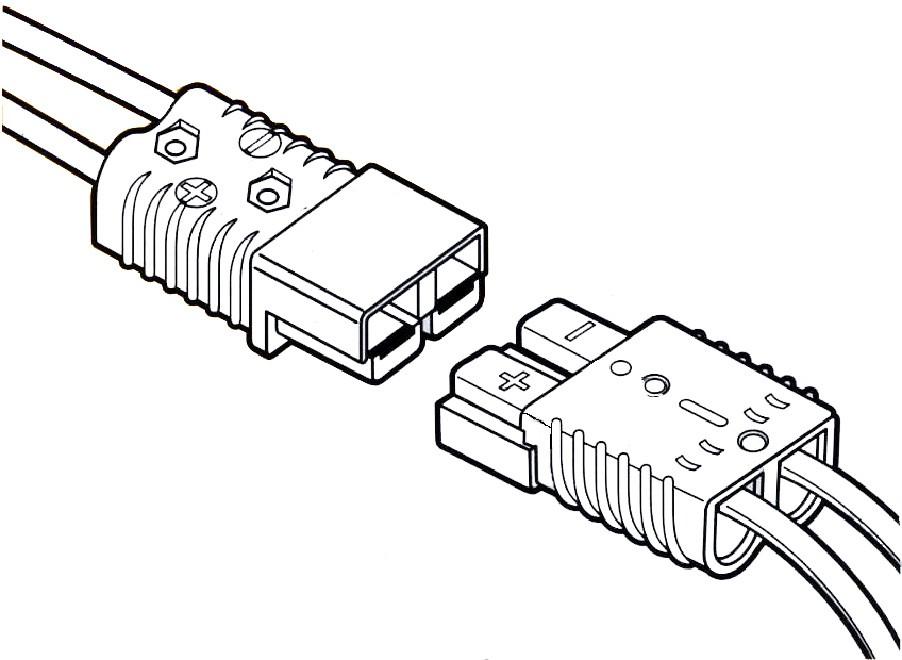 quick connect plug 3 u0026quot  x 2 1  8 u0026quot  175 amp