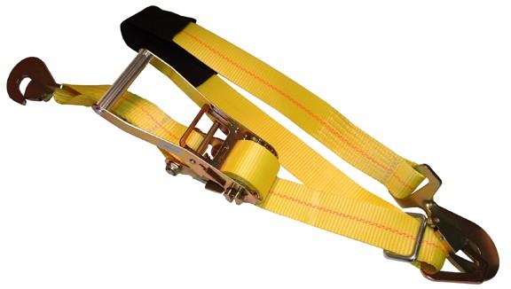 "2"" x 9' Ratchet Axle Strap - 10,000 lb. Capacity"