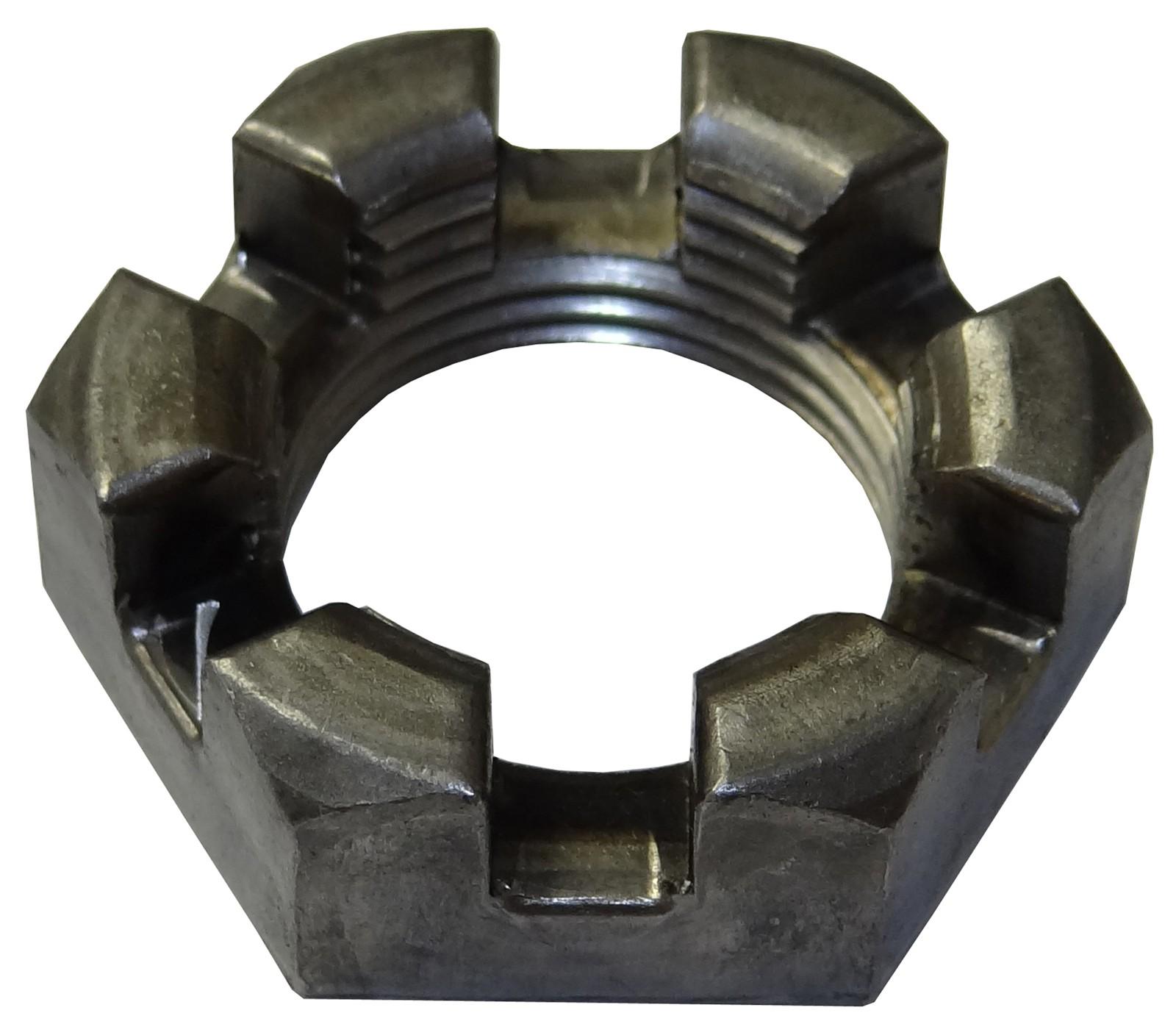 "1""-14 Axle Nut - 6 Slots"