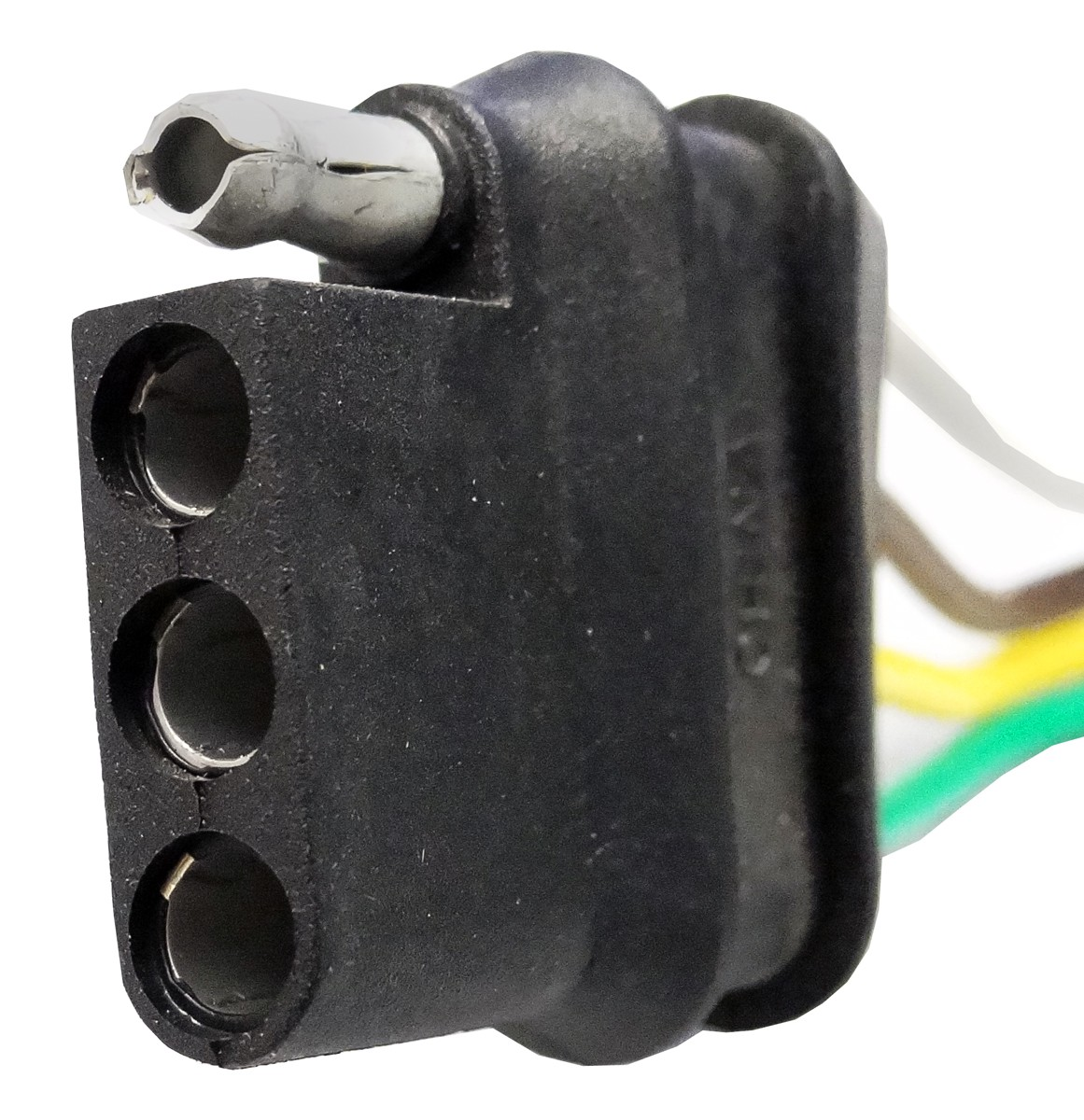 48 U0026quot  Wire Harness - 4-way Flat Connector - Car End - Wire - Wiring  Adapters  Connectors
