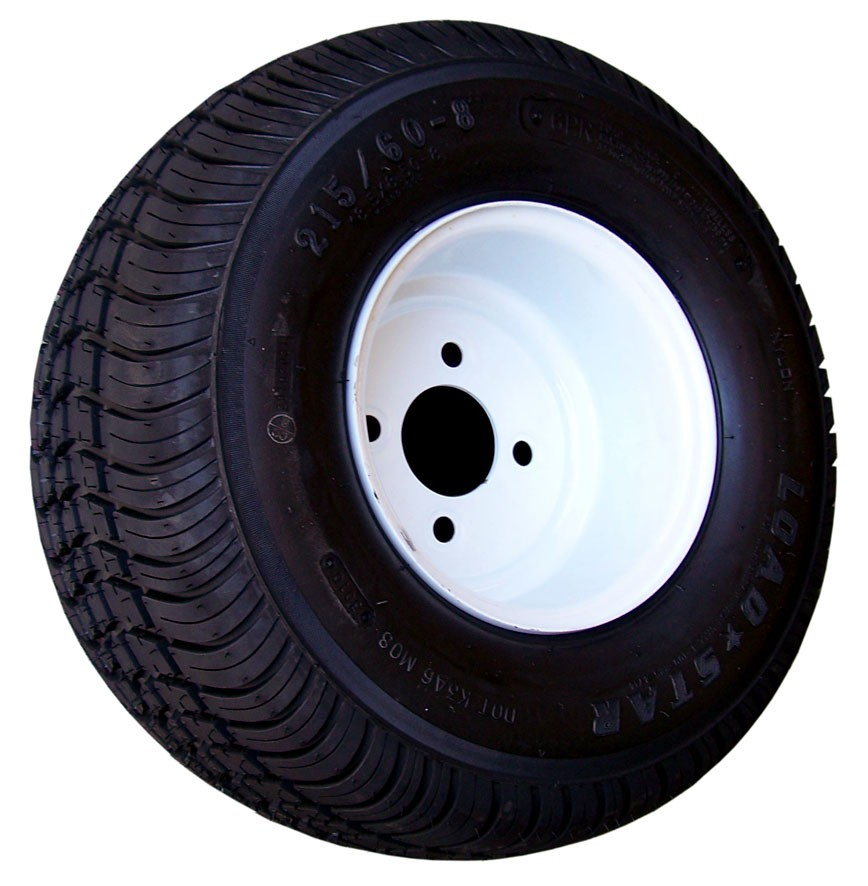 """205/65-10 Bias, Painted, 1,105 lb. Capacity, 4 on 4"""", """"C"""" Load Rating"""