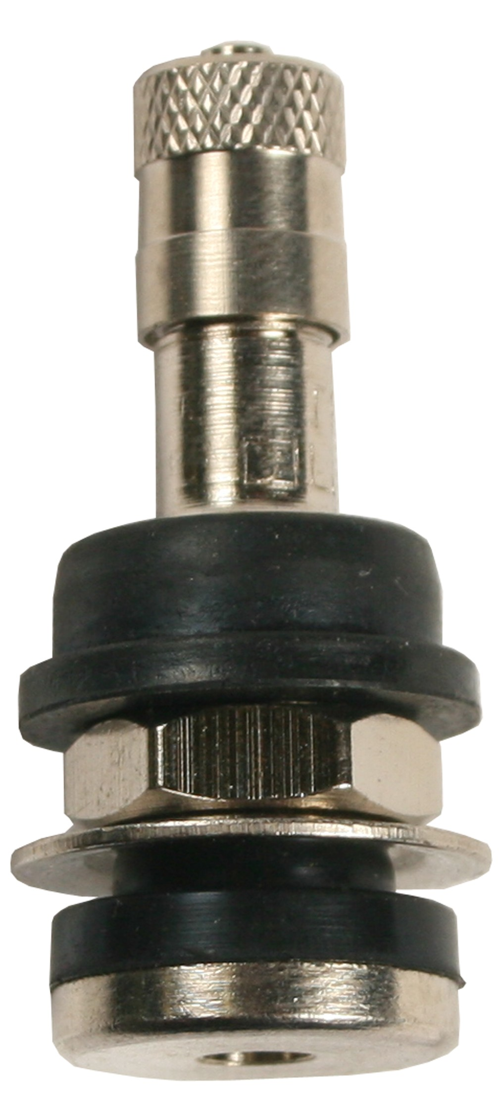 "1 1/4"" Metal Bolt-In Valve Stem, Fits 5/8"" Hole"