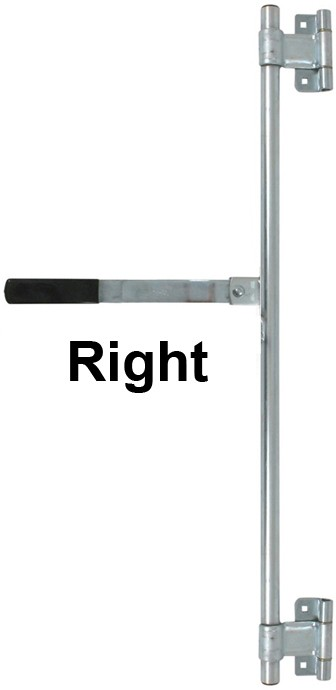 Bar Gate Latch : Quot cam latch side door bar lock assembly right hand