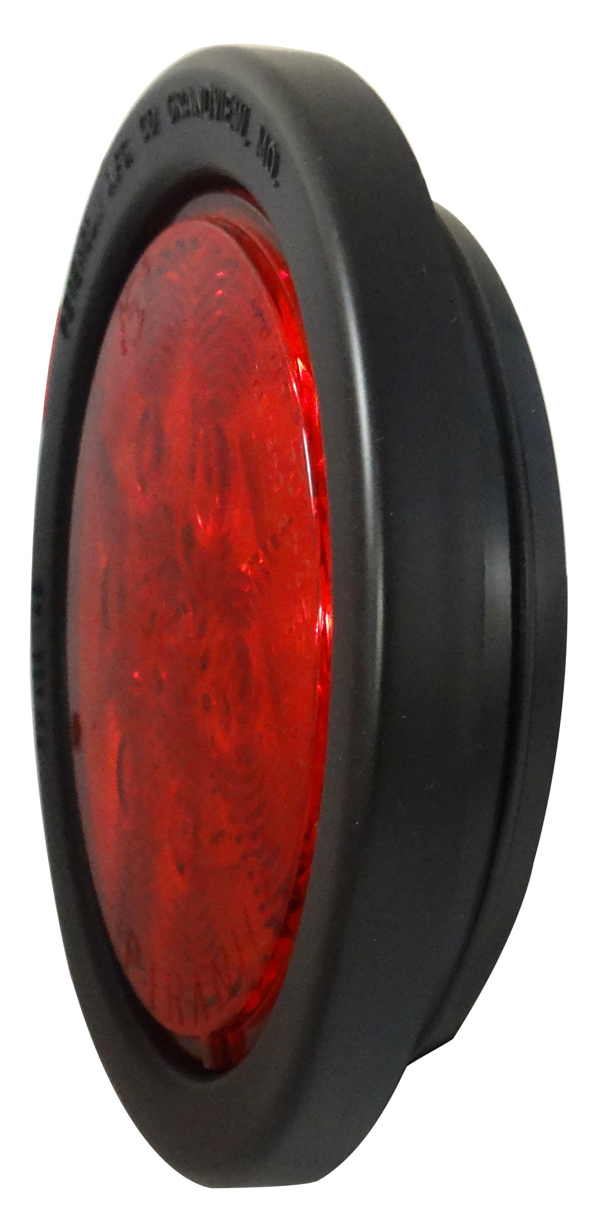 Led 4 U0026quot  Round Tail Light With Grommet