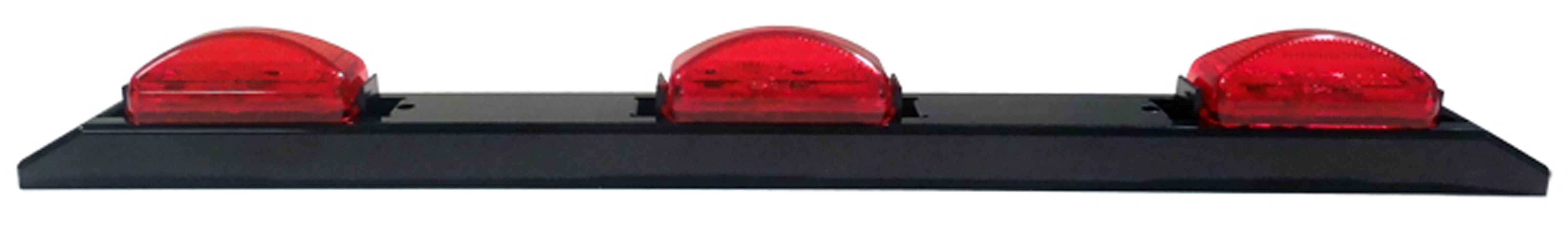 "17"" Long Plastic Submersible LED 3 Bar Light"