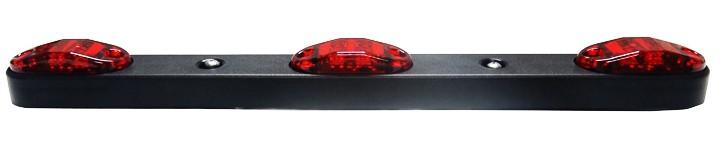 "15"" Long Plastic Submersible LED 3 Bar Light"