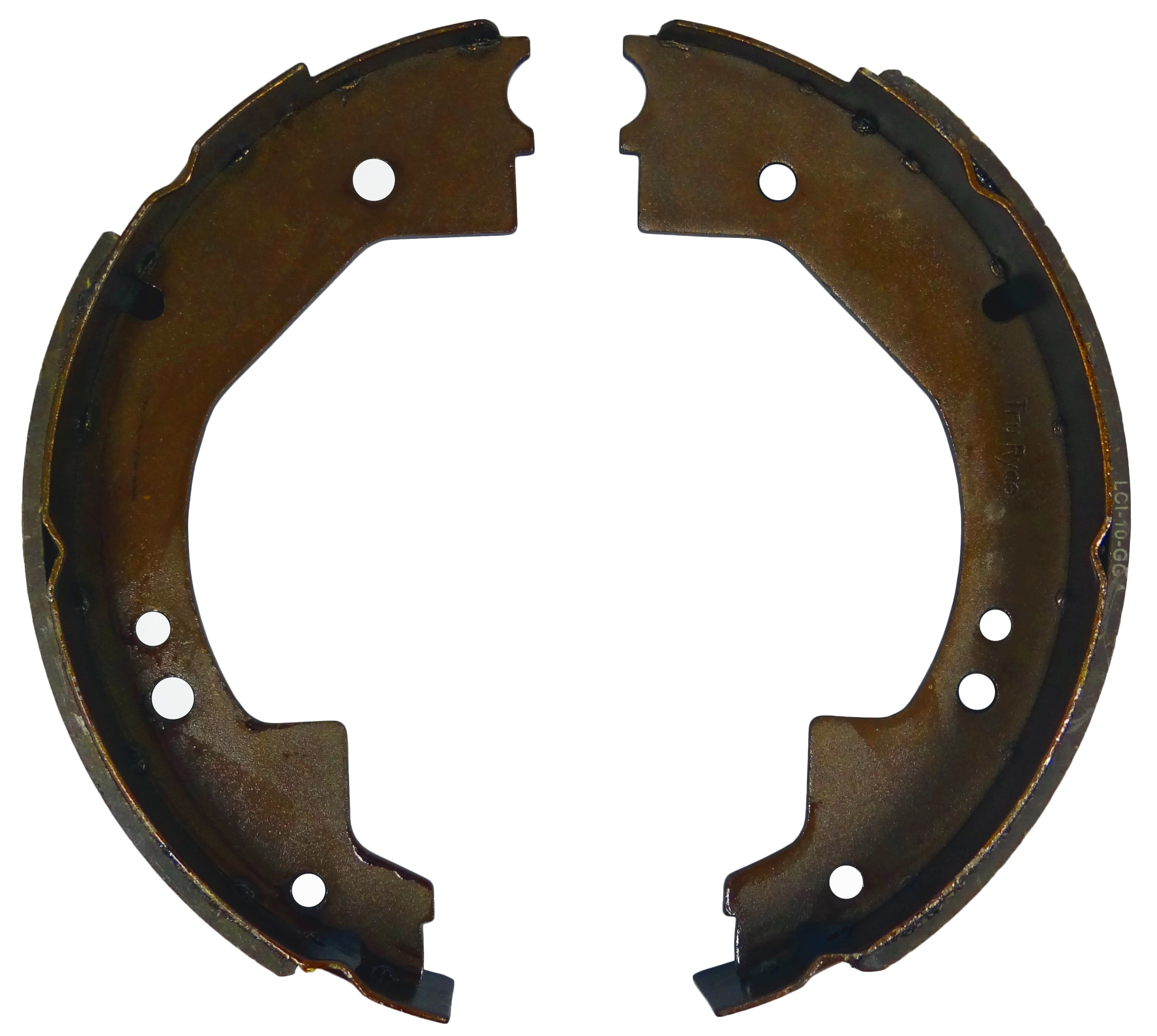 Brake Lining Measurements : Brake shoe and lining kit for quot electric