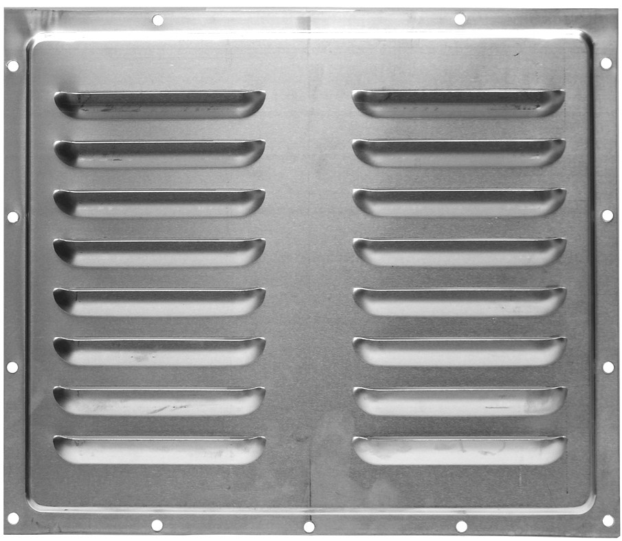 "Car Mate 10"" x 12"" Side Wall Trailer Vent"