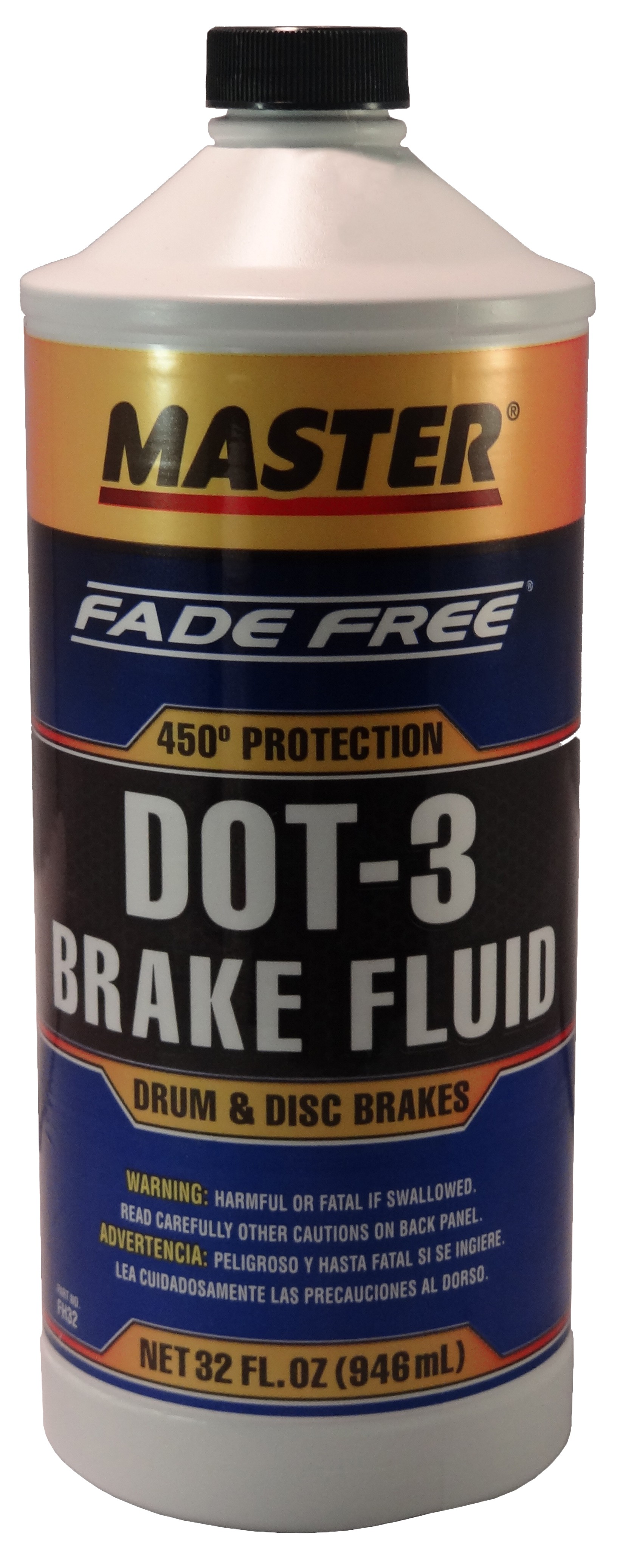 Master® DOT-3 Brake Fluid 32 oz.