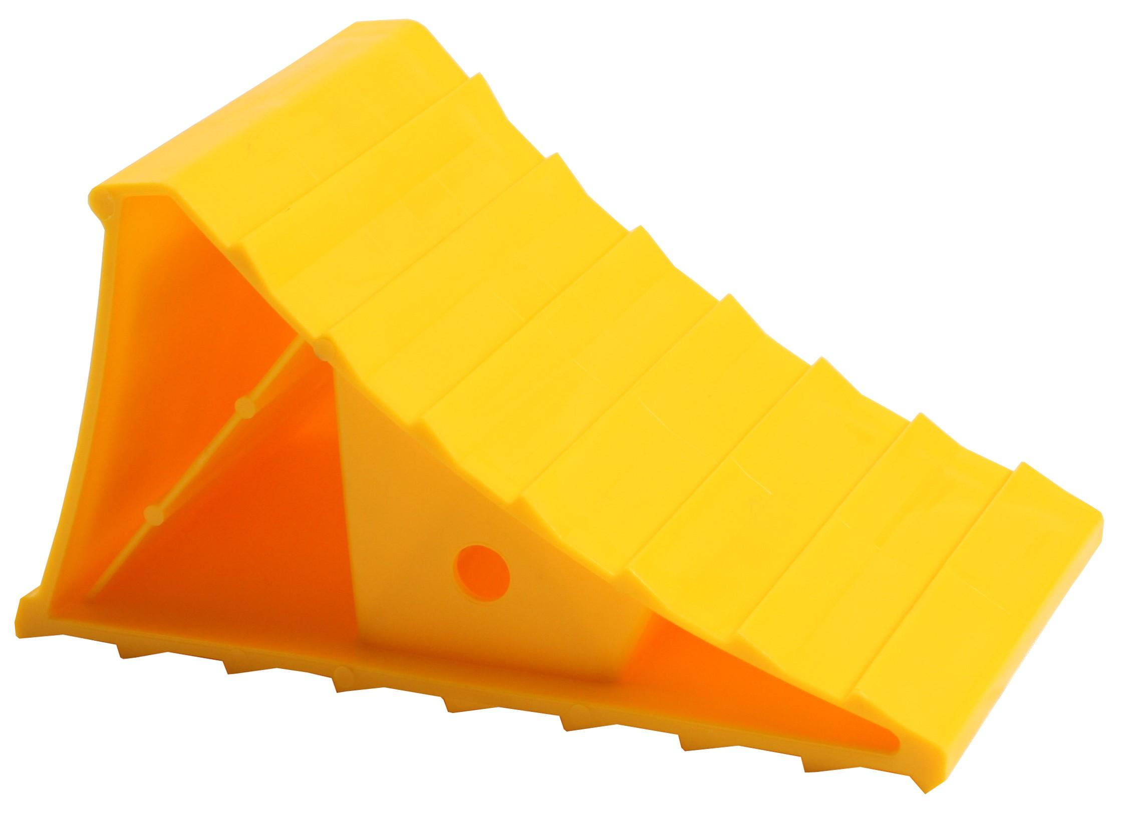 Yellow Plastic Wheel Chock
