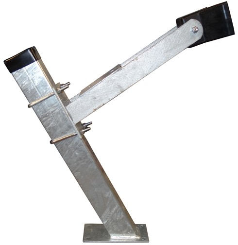 """2"""" x 3"""" x 24"""" Galvanized Winchpost Assembly - Fits 2"""" x 3"""" Tongue"""