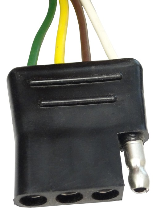 12 U0026quot  Wire Harness - 4-way Flat Connector