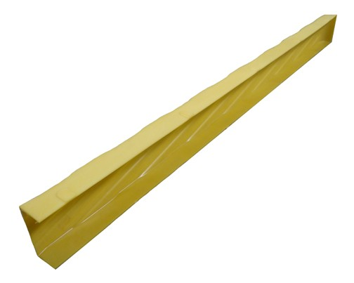 "Yellow Bunk Glide - 2"" x 4"" x 50"" - Fits Over 2"" x 4"" - Sold Individually"