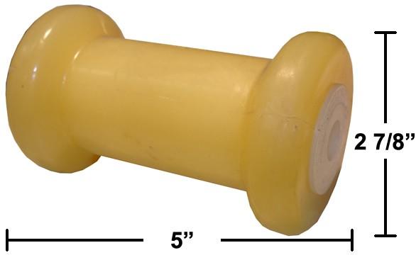 """5"""" Keel Roller - Thermal Plastic"""