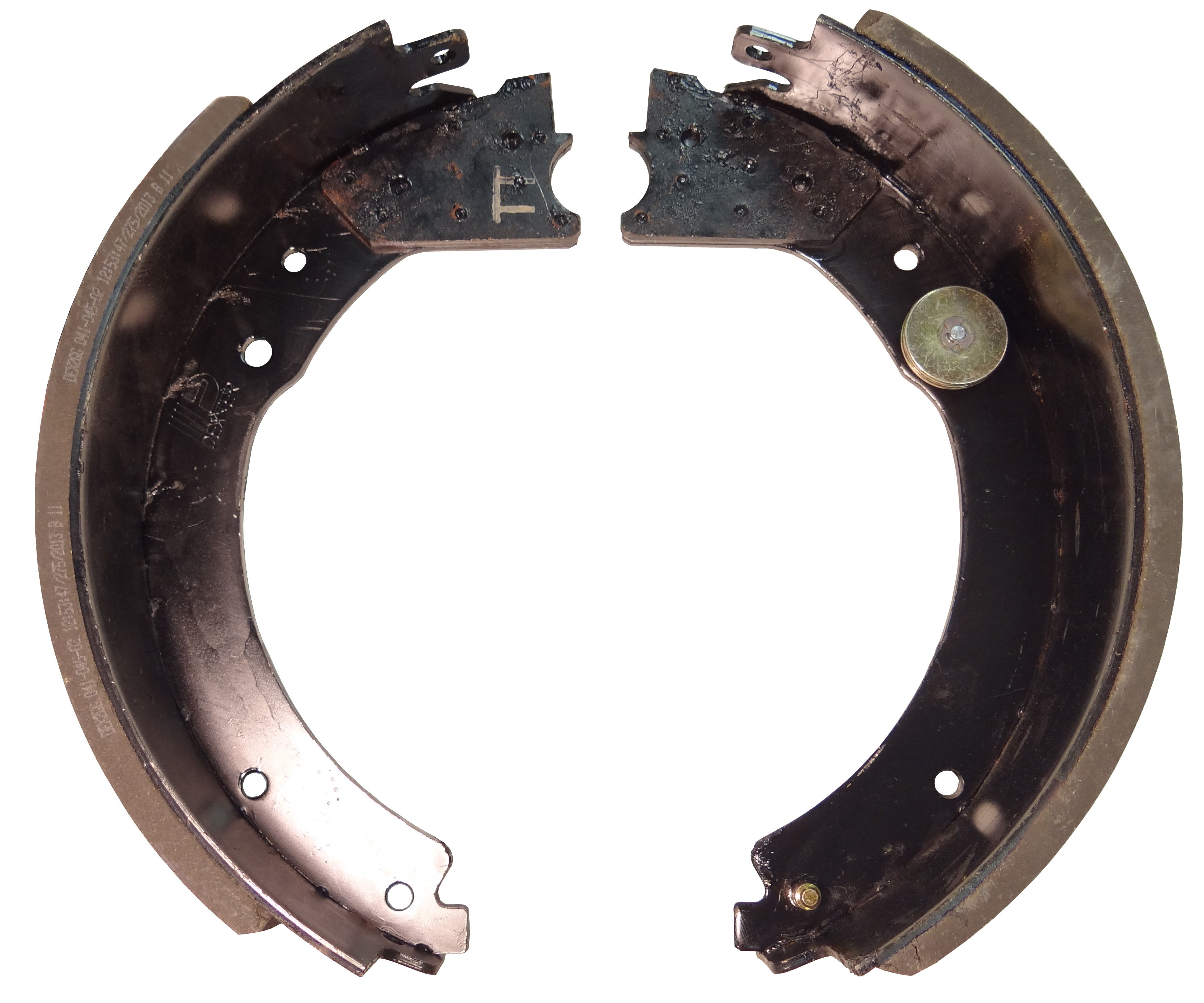 """Dexter® Brake Shoe and Lining Kit for 12 1/4"""" x 5"""" Electric Brake - Left Hand (Driver's Side) - 12,000 to 15,000 lbs."""