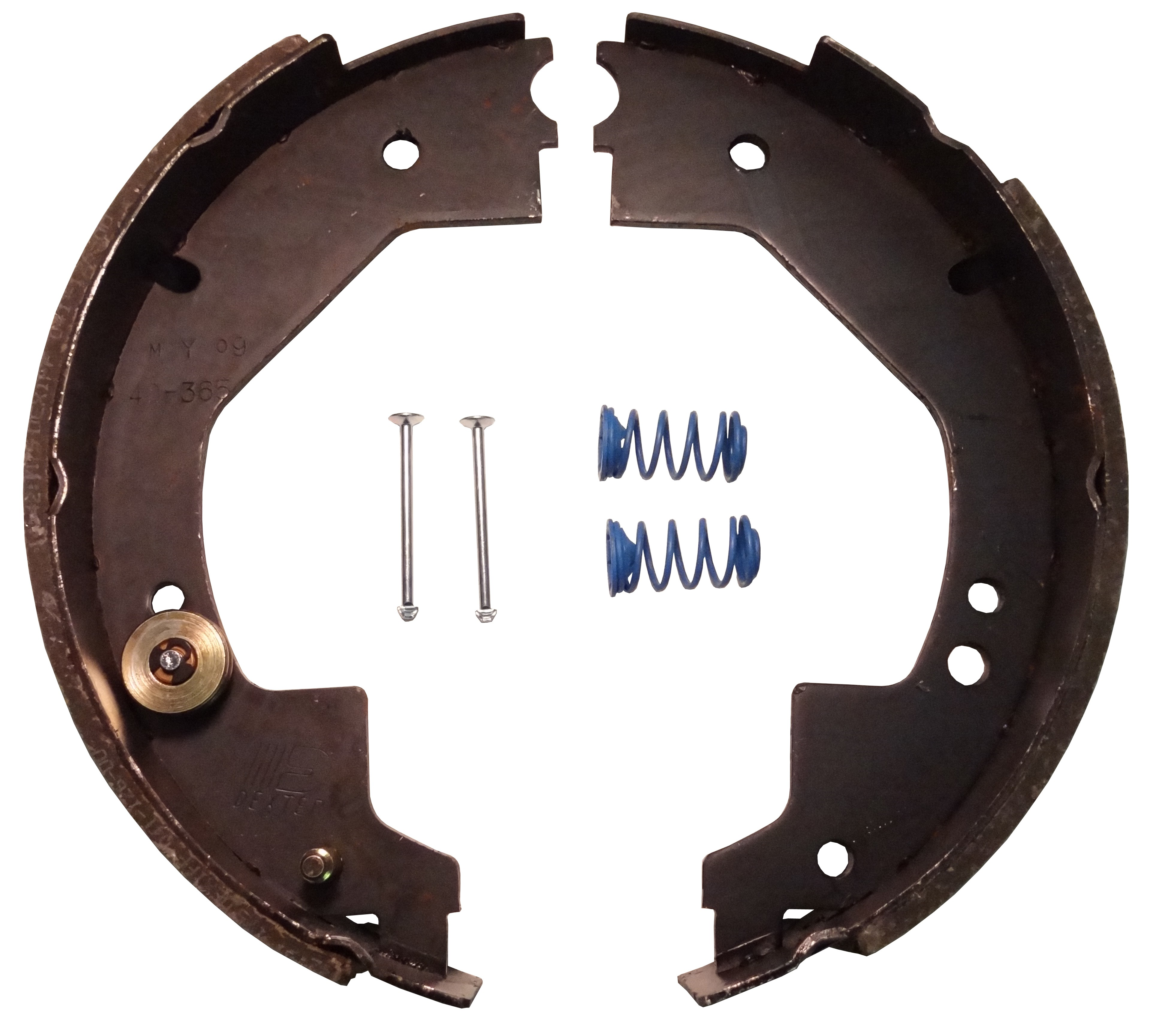 """Dexter® Self Adjusting Brake Shoe and Lining Kit for 10"""" x 2 1/4"""" Nev-R-Adjust® Electric Brake - Left Hand (Driver's Side) - 3,500 lbs."""