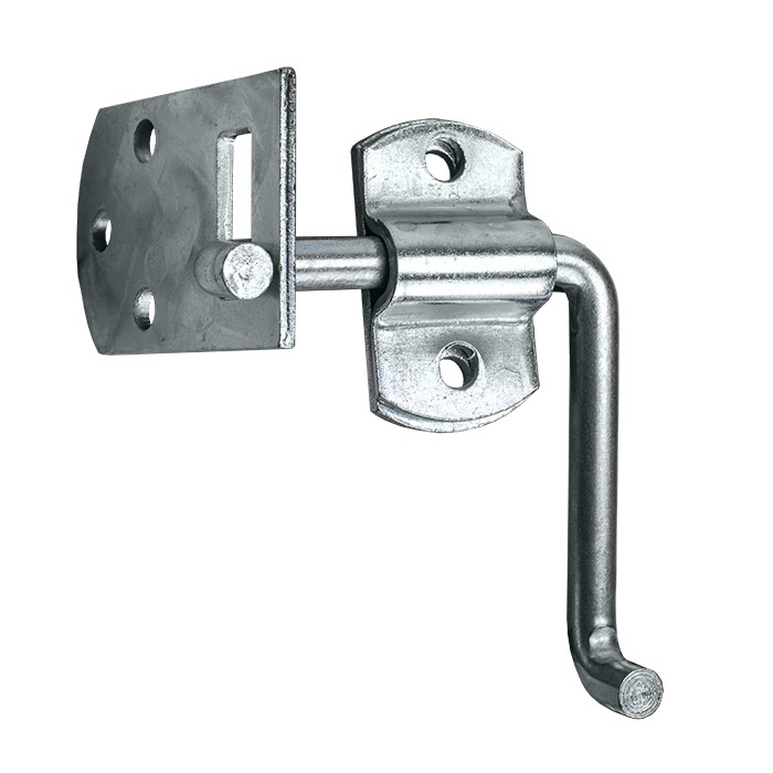 Corner Security Latch - Can Be Used Left or Right Side of Trailer