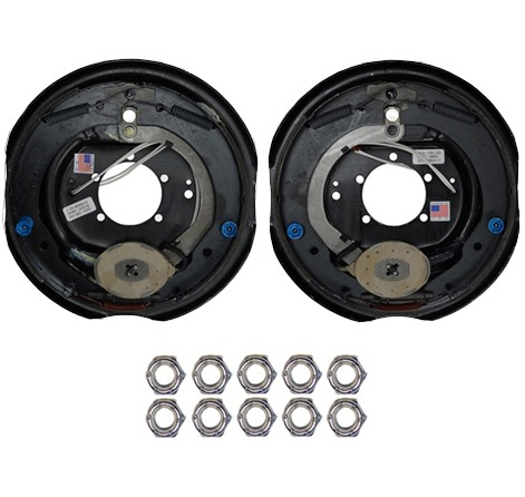 """Dexter® 12"""" x 2"""" Electric Trailer Brake Pair (Left & Right Hand) - 6,000 lbs."""