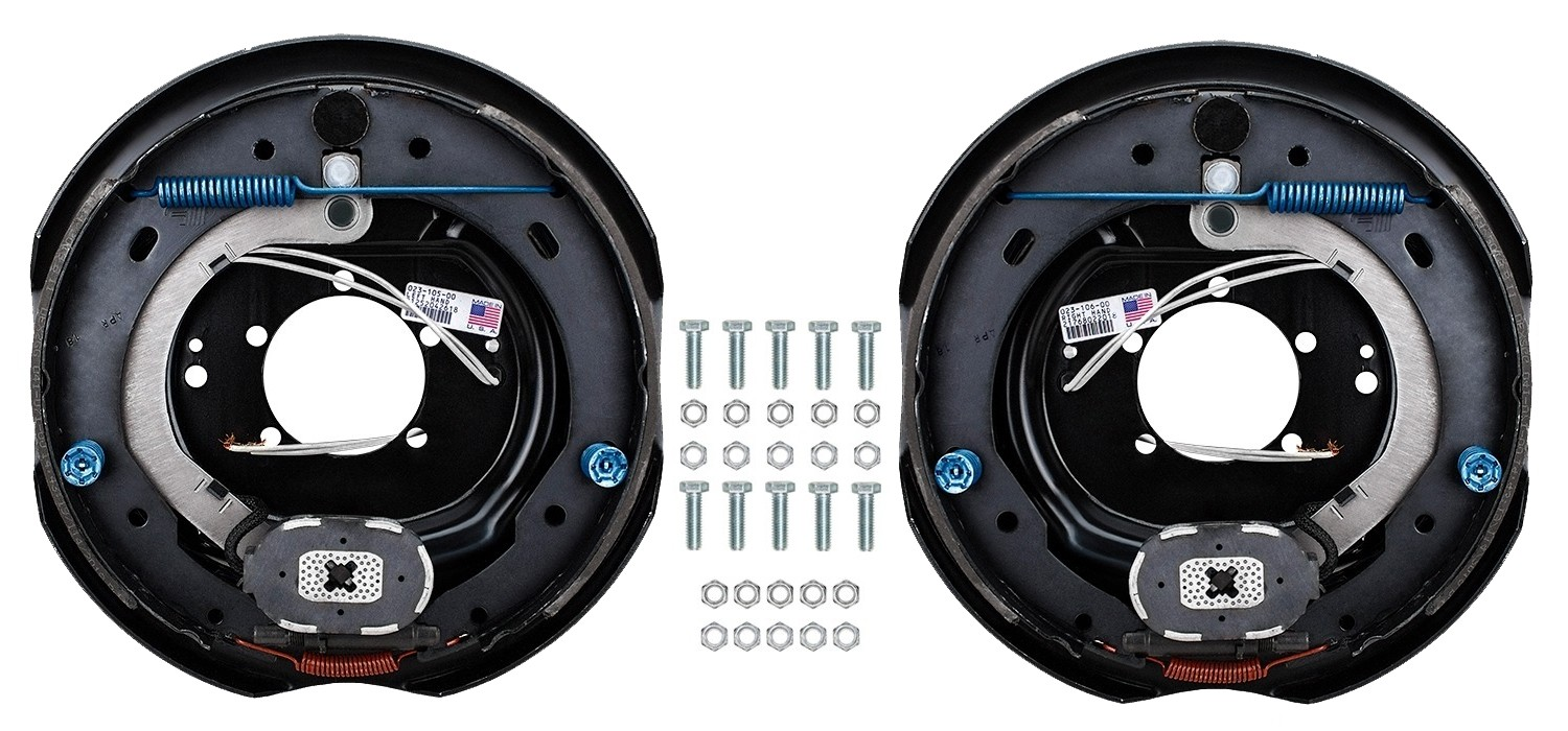 "Dexter 12"" x 2"" Electric Trailer Brake Kit - Left & Right Hand Assemblies - 6,000 lbs. Axle Capacity"