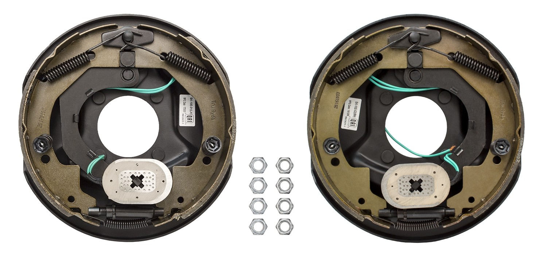 Truryde 10 X 2 25 Electric Trailer Brake Kit Left Right Hand Emblies 3 500 Lbs Axle Capacity