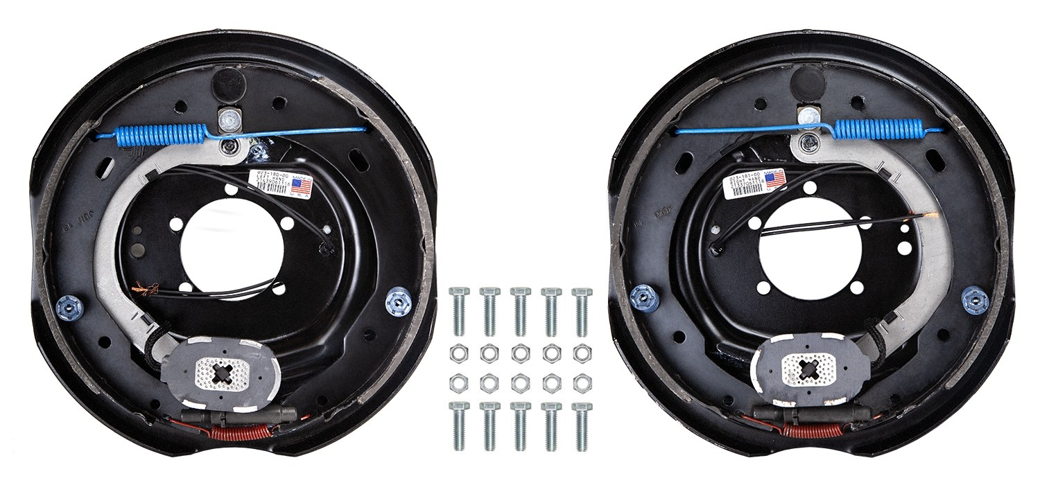 "Dexter 12"" x 2"" Electric Trailer Brake Kit - Left & Right Hand Assemblies - 7,000 lbs. Axle Capacity"