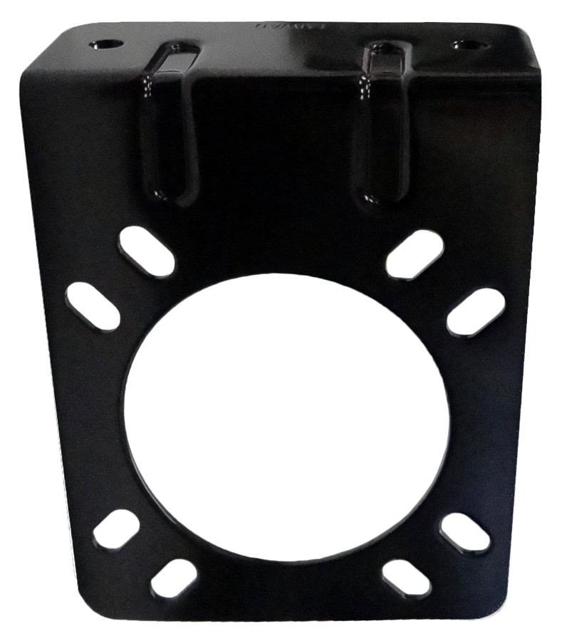 Mounting Bracket For 7-way Connector - Black