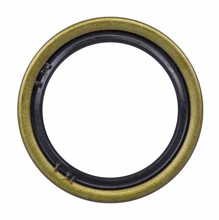 "Oil and Grease Seal 1.89/""x 2.559/""x 0.315/"" Inch Rubber Covered Double Lip w//Garte"