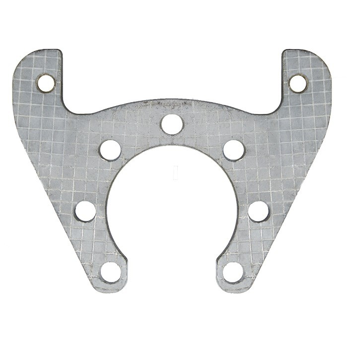 "Tie Down Engineering Mounting Bracket for 9.6"" Galv-X Integral Rotor - Galvanized Finish"