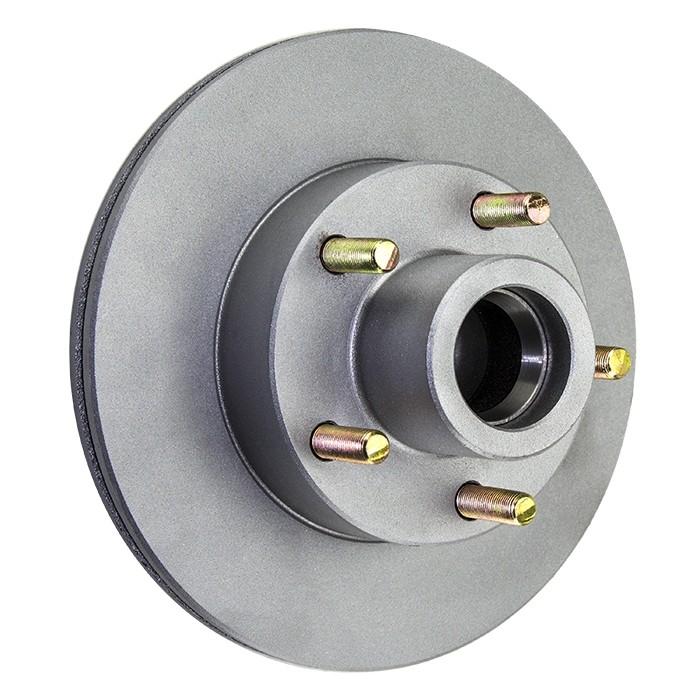 "Tie Down Engineering 9.6"" Eliminator Integral Hub/Rotor - 5 on 4 1/2"" - Galv-X Coated"
