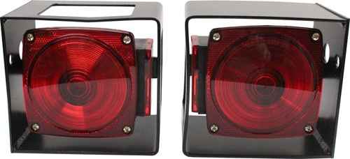 Tail Light Box Heavy Duty Steel 5 5