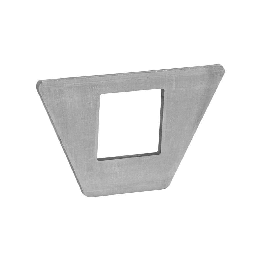 "Bottom Support Plate w/2.3"" Dia. Square Hole"