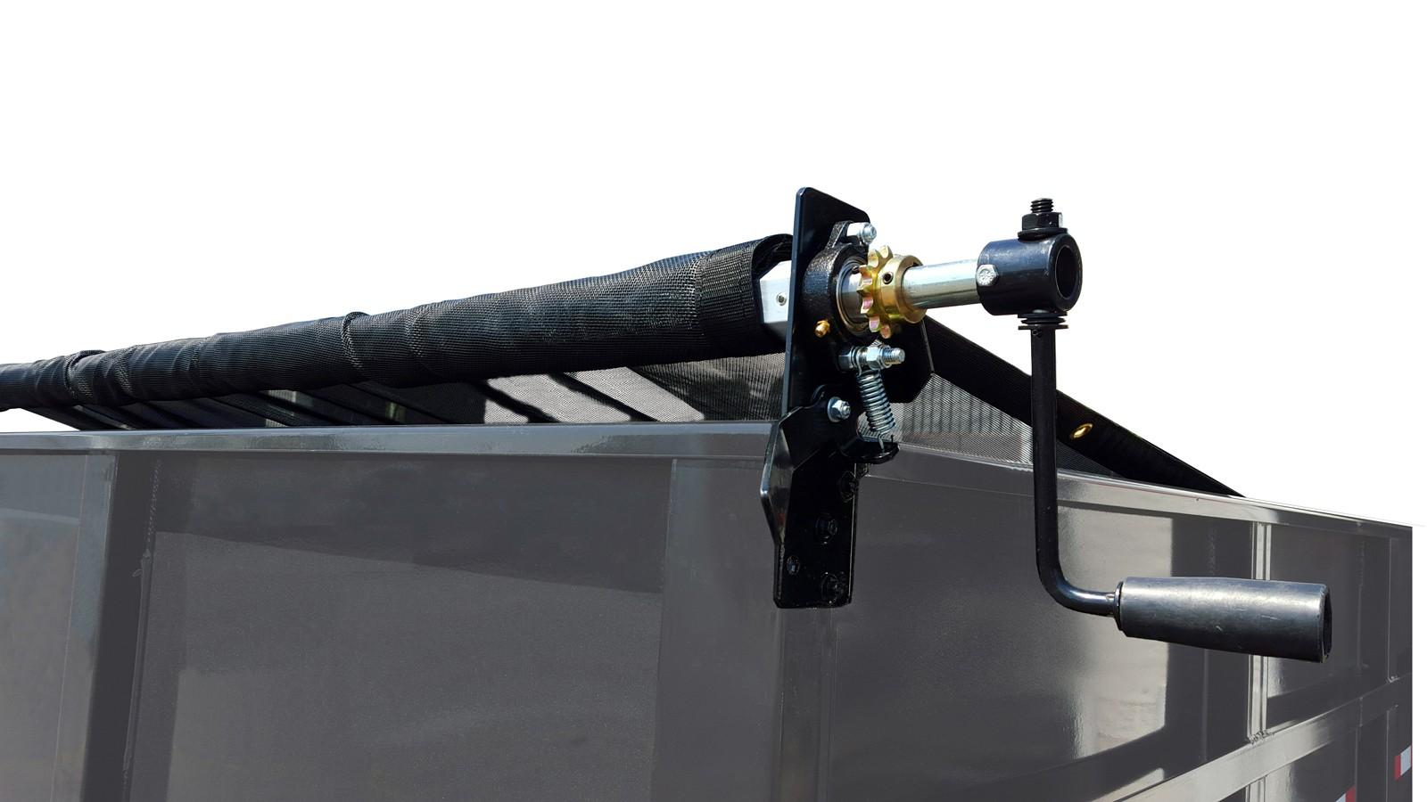 6 X 14 Mesh Tarp And Hardware Tarp Roller Kit For Dump