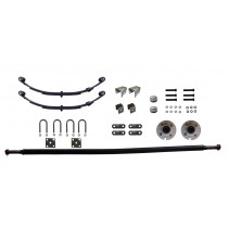 """2,000 lb. Capacity Complete Axle Kit - 4-Bolt Hubs - Fits 48"""" Wide Trailer Frame"""