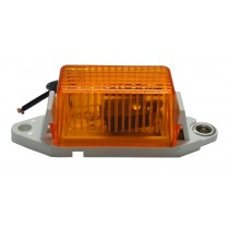 "1"" x 1.75"" - Amber - Ear Mount - Marker Light"
