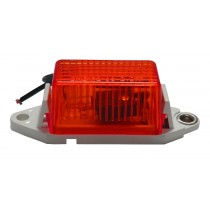"1 x 1.75"" - Red - Ear Mount - Marker Light"