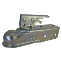 "Dutton Lainson 2,000 lbs. 1 7/8"" Ball Bolt On Straight Tongue Trailer Coupler - 2"" Channel"