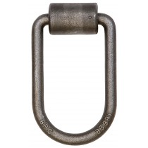 "1/2"" D-Ring with Mounting Bracket - 2 1/2"" x 4 1/2"" I.D."