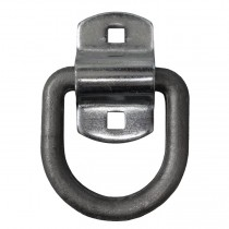 "1/2"" D-Ring with Mounting Bracket - 2 1/2"" x 2 3/8"" I.D."