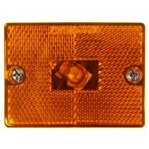 "Marker Light - Amber - 2"" x 2 3/4"""
