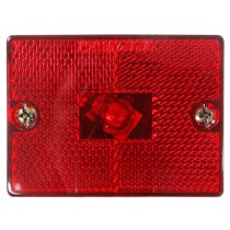 "Marker Light - Red - 2"" x 2 3/4"""