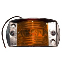 "2 1/2"" x 1 3/4"" - Amber - Marker Light"