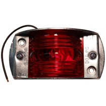 "2 1/2"" x 1 3/4"" - Red - Marker Light"