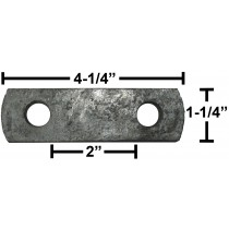 Galvanized Frame Strap - Fits U-Bolts UB30, UB31, UB32, and UB33