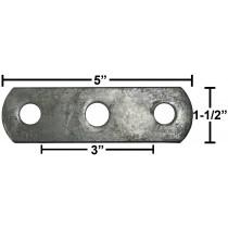 Galvanized Frame Strap - Fits U-Bolts UB39, UB40, UB41, UB42, and UB43