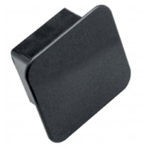 "Receiver Tube Cover, 2"" Sq., Black"