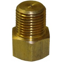 "3/8"" Brass Fitting - For Drum Brakes Only - Not Included with Master Cylinder"
