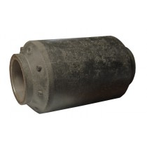 "1"" I.D. x 2 1/8"" O.D. x 3 1/8"" Long - Rubber/Steel - Dexter® Equalizer Bushing 014-074-00"